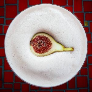 Bourbon Fig Sour