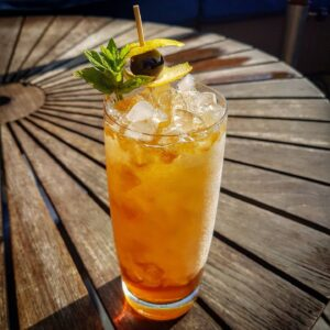 Canadian Maple Syrup Mint Julep