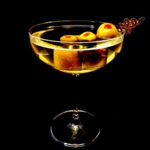 Tipsy Olive Gin Martini