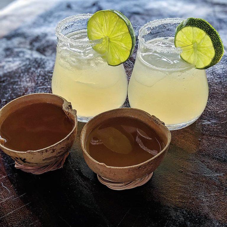 Two Classic Margaritas