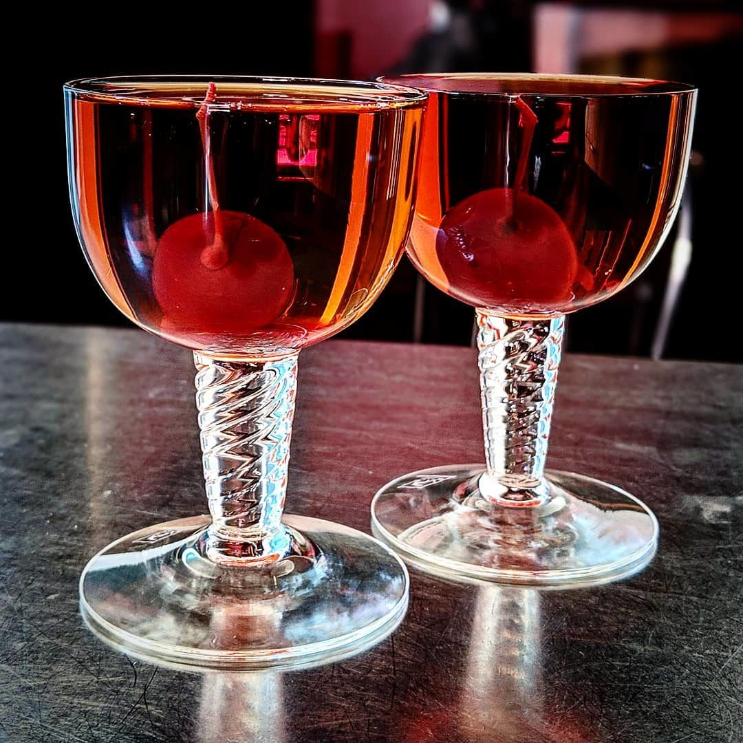 Two Perfect Manhattans