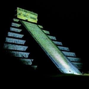 Chichén Itzá Before Sunrise