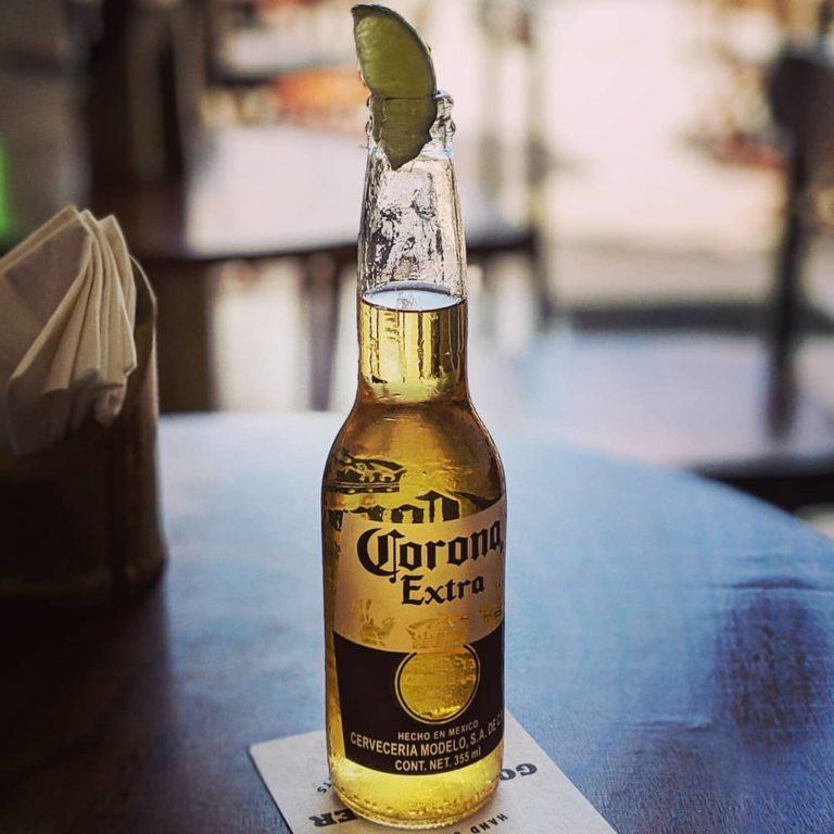 Corona Extra with Lime
