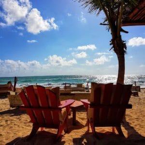 La Zebra Hotel Tulum Beach Chairs