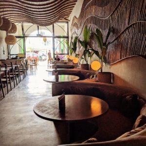 The Good Burger Tulum Restaurant Seating