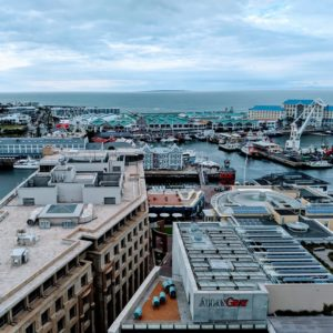The Silo Hotel Rooftop View of Robben Island