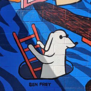 Vancouver Graffiti Dog