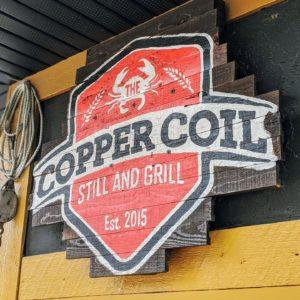 Copper Coil Still and Grill