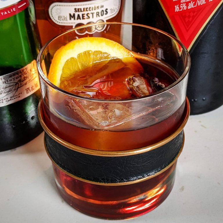 Cynar Rum Negroni