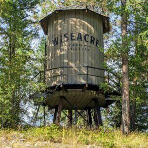 Wiseacre Farm Distillery Water Tower