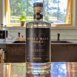 Wiseacre Farm Distillery Single Malt Vodka