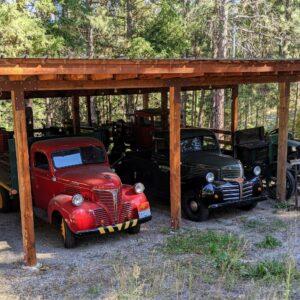 Wiseacre Farm Distillery Vintage Car Collection