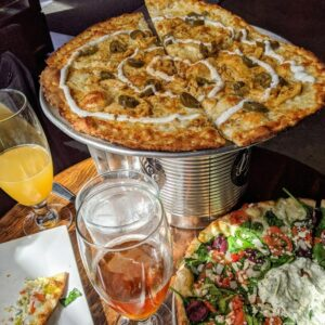 Bad Tattoo Brewing Company Pizza and Beer