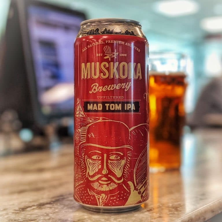 Muskoka Brewery Mad Tom IPA