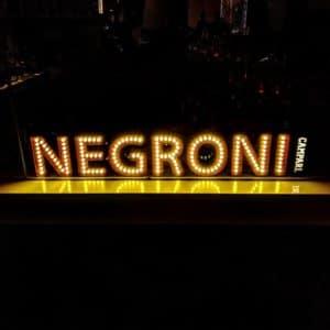 The Negroni Bar Sign