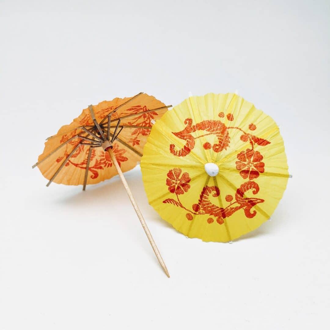 Cocktail Umbrella Picks