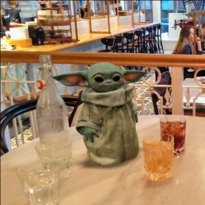 Homer Street Cafe & Bar Cocktails with Baby Yoda