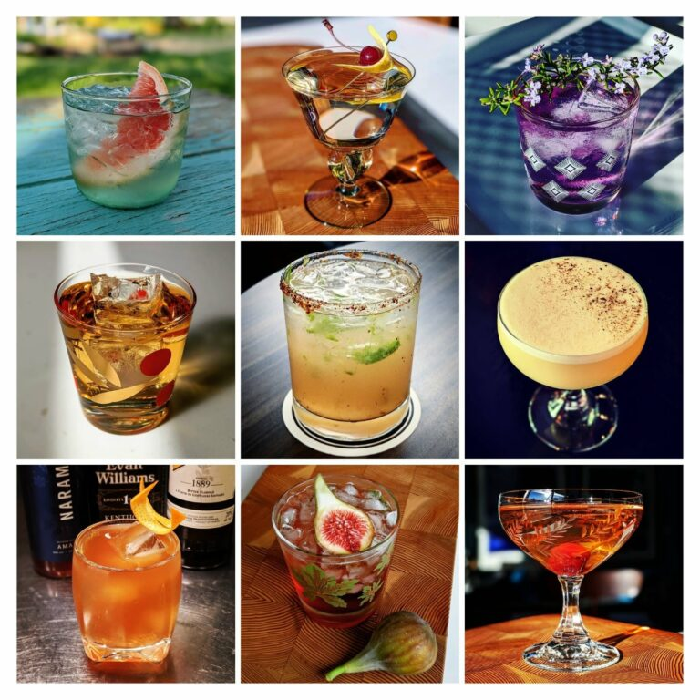 My top 9 cocktails from 2020