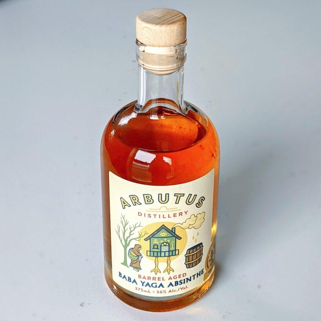Arbutus Distillery Barrel-Aged Baba Yaga Absinthe