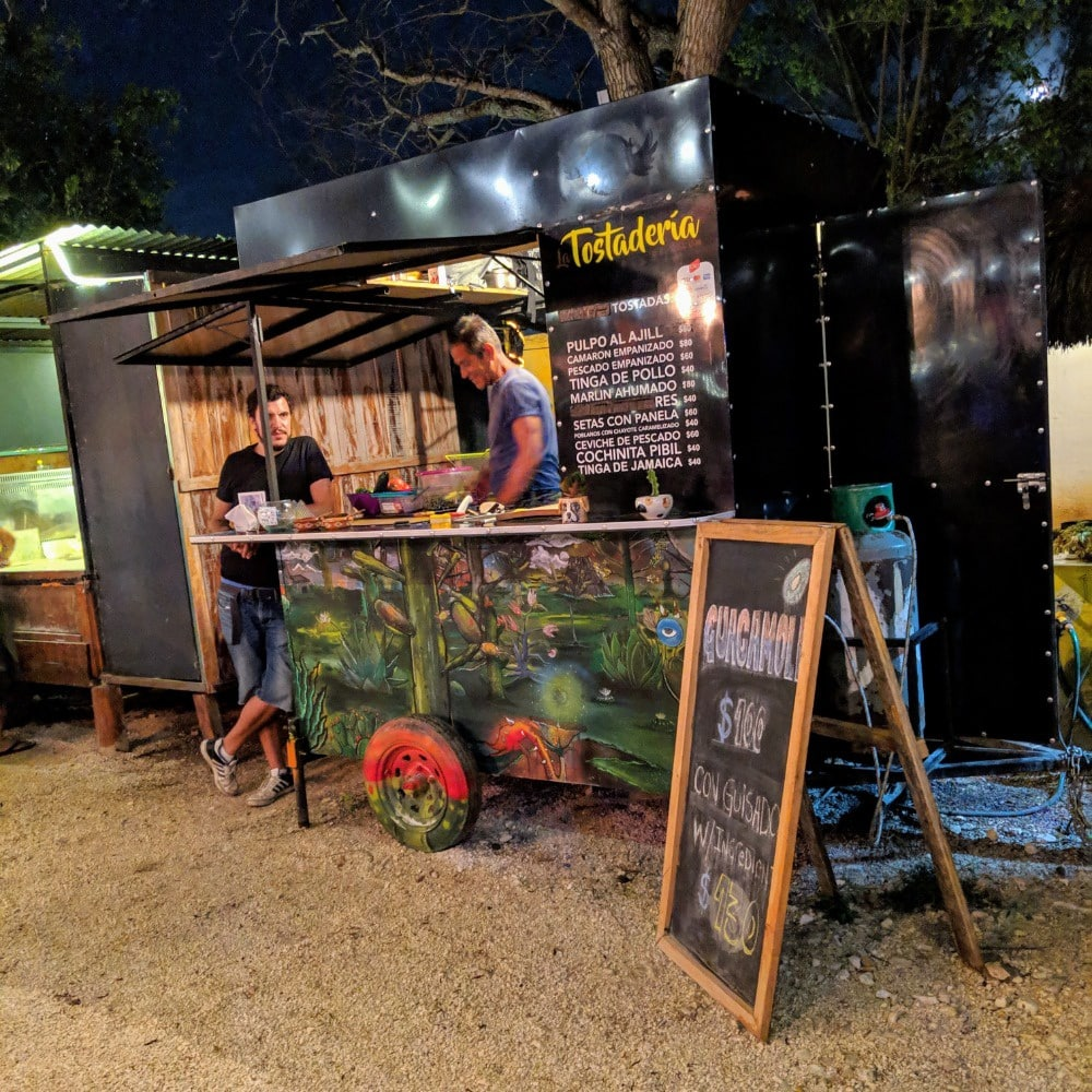 Tulum Food Truck Park - Tostaderia