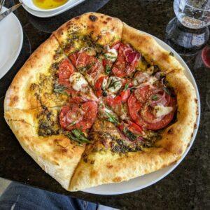 Miradoro Restaurant Margarita Pizza
