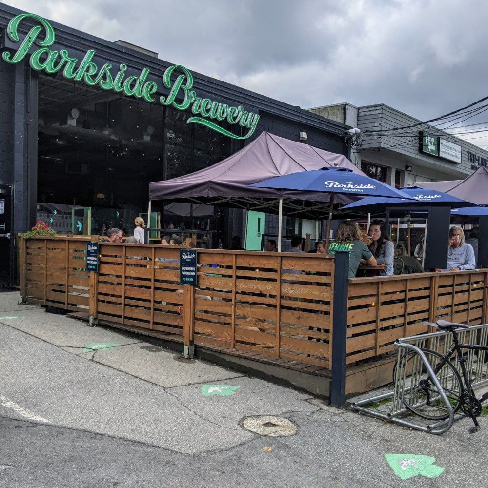 Parkside Brewery Exterior Patio