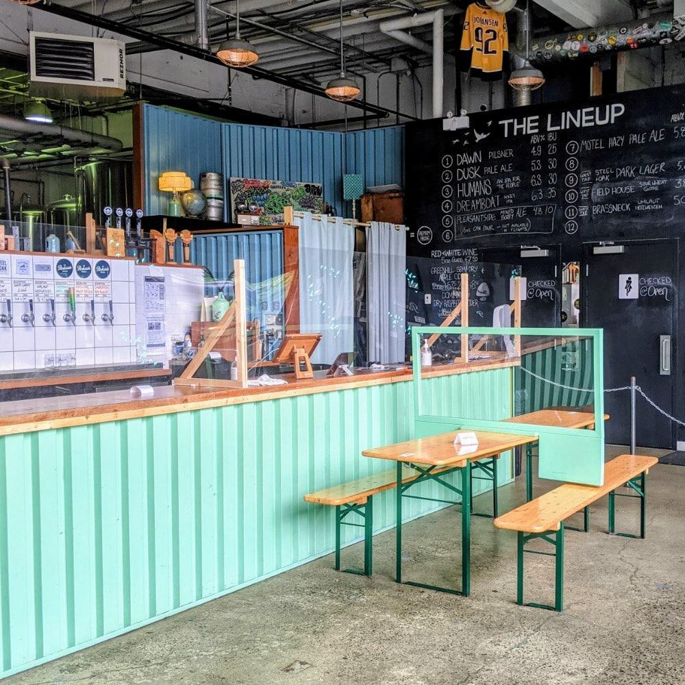 Parkside Brewery Interior
