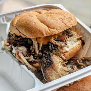 Rosie's BBQ Pulled Pork Sandwich